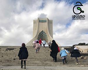 مکان های انقلابی: برج آزادی