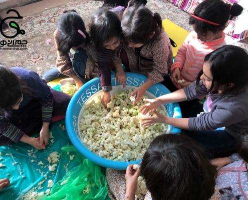 پروژه های ادبستان دخترانه شهید چمران