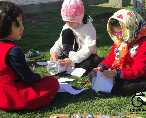گردش های حسینیه کودک شهید چمران