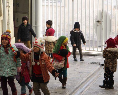 مکان های انقلابی: جماران، خانه ی امام جون
