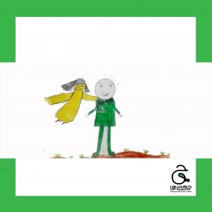 قهرمان سازی سردار شهید برای کودکان