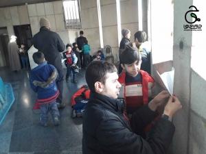 آشنایی با هویت ملی با پرتاب موشک از برج آزادی