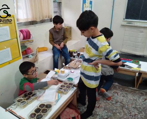 پروژه های ادبستان پسرانه شهید چمران